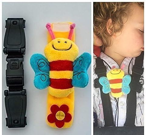 Buggy Kinderwagen Clip Buddy Bee Kind Sicherheit Trageriemen–Stop Ihre Houdini Entweichen mit escape-me-not