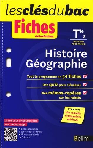 Histoire-Géographie Tle S : Fiches détachables