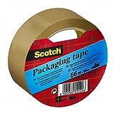 Scotch C3866S8 Verpackungsklebeband, 38 mm x 66 m, braun