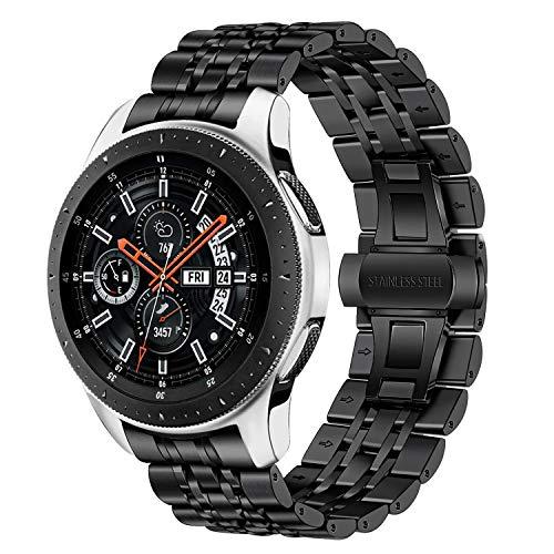 TRUMiRR Galaxy Watch 46mm/Gear S3 Correa Reloj Metal