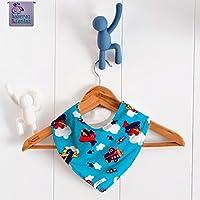 Babero bandana Aviones_2. Para bebés, niños y adultos con necesidades especiales. P_73 ***Envío gratuito a España***
