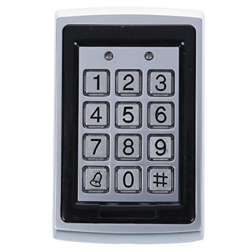 SODIAL (R) Einheit Anerkennung Access Control RFID Reader mit wasserdichte Tastatur Reader Control