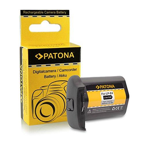 Galleria fotografica Batteria LP-E4 / LP-E4N Per Canon EOS 1D C, 1D Mark III, 1D Mark IV, 1DX, 1Ds Mark III (Per 1DX Senza Indicazione Del Tempo Residuo)