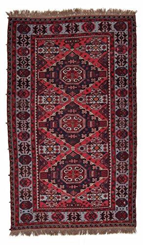 Nain Trading Kelim Soumak 328x193 Orientteppich Teppich Dunkelgrau/Dunkelbraun Handgeknüpft Russland -