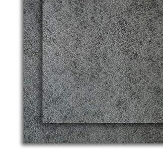 Filtro Universal para Campanas Extractoras con CARBÓN ACTIVO. 2 piezas 57×47 Centímetros, Adaptables. Anti-olor en Fibra Autoextinguible y Carbón Activo.