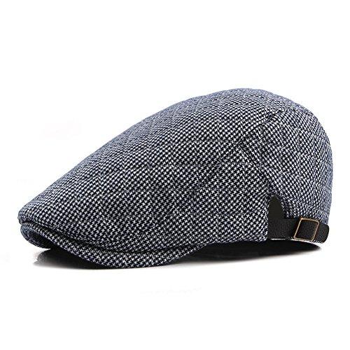 Anshili Uomo Cotone Spessore Cappello per l invern. 05f3b032c4d3