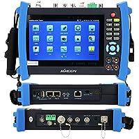 KKmoon 7 Pollici CCTV Onvif IP Telecamera Tester Schermo di Tocco Monitore AHD/SDI/TVI/CVI HDMI 1080P/PTZ/POE/WIFI/DMM/TDR/ Opzionale Metro di Potenza /Visual Fault Locator IPC-8600MOVTSADH