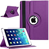 ROTATING 360 LEATHER CASE COVER + SCREEN PROTECTOR FOR APPLE IPAD 2 AND 3 AND IPAD 4 4TH GENRATION