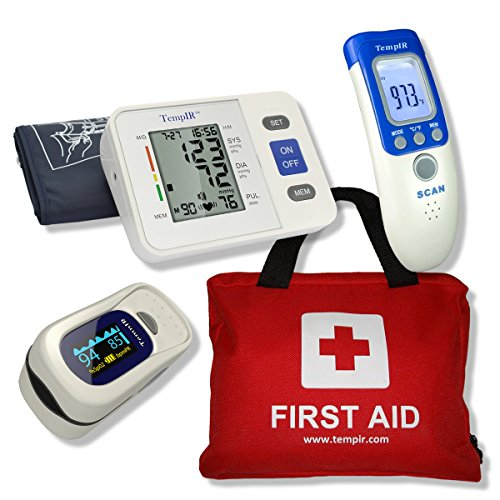 first-aid-kit-contains-over-100-items-finger-pulse-oximeter-body-temperature-thermometer-arm-blood-p