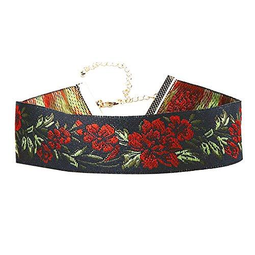 YSP Jewelry Vintage Flower Choker Lace Neklace (2 ) 18d3ae6f1ef6