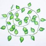 Godagoda Pflanzen Deko Home Decoration Künstliche Gefälschte Efeu für Wanddecoration Partydecoration Hochzeitdecoration