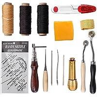 S.D.Maket Leder Werkzeuge Set Handwerkzeuge Couture Leder Handwerk Handnähen Tool Set (Typ 1)