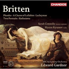 A Charm of Lullabies, Op. 41 (arr. C. Matthews): The Highland Balou