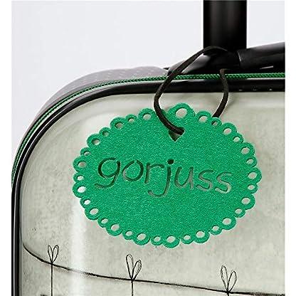 Gorjuss 3221461 The Scarff Equipaje Infantil 55 cm, 33 litros, Verde