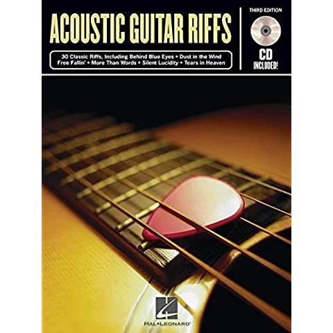 ACOUSTIC GUITAR RIFFS BK/CD 3RD EDITION by Hal Leonard Corp. (1999-03-01)