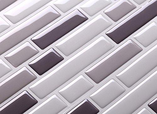 Pezzi  cm adesivo per piastrelle diverse tonalità di