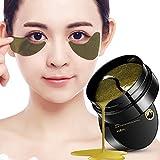 OYOTRIC Schwarze Perle & Gold Augenpflege Feuchtigkeitsmaske Augenpads, um Das Schwarze Auge zu entfernen Taschen unter Augenlinien, Anti-Falten, Anti-Aging