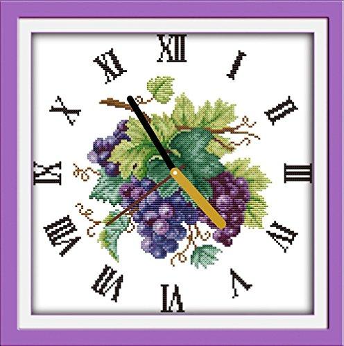 Arte YEESAM® Nueva Kits punto cruz avanzada-Reloj