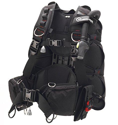 m Jacket, Unisex Erwachsene M Schwarz (Cressi Tauchen Bag)