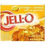 Jell-o orange Gelatin Dessert (170g)