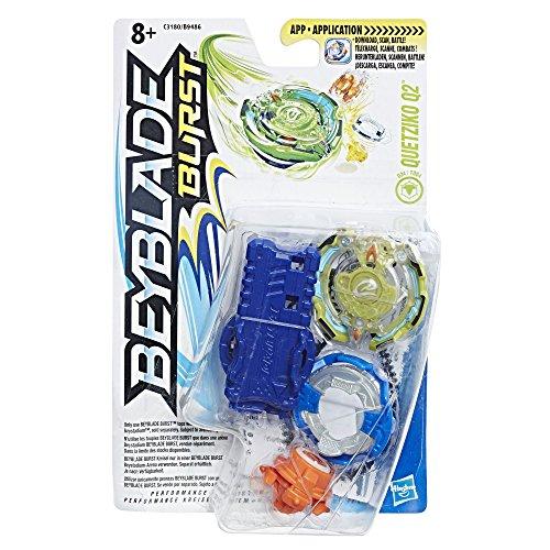 Hasbro Beyblade Burst C3180ES0 - Starter Pack Quetziko Q2, Kreisel