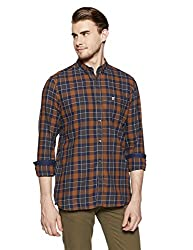 French Connection Mens Slim Fit Casual Shirt (52HKO_2881_L)