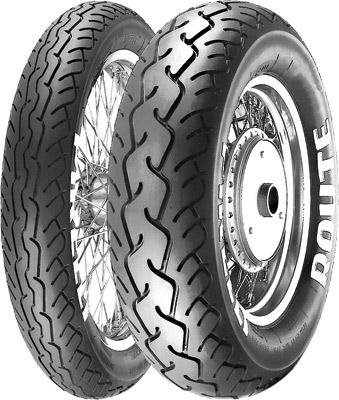 Pirelli MT66 Route Tire - Rear - 130/90-15 , Position: Rear, Tire Size: 130/90-15, Rim Size: 15, Load Rating: 66, Speed Rating: S, Tire Type: Street, Tire Application: Cruiser 1003300 by Pirelli