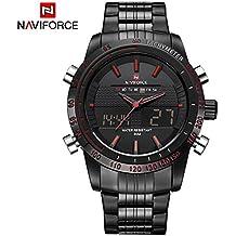 Bulary Véritable haut de gamme de marque à la mode des hommes de sport  montre en b5deebe6e10