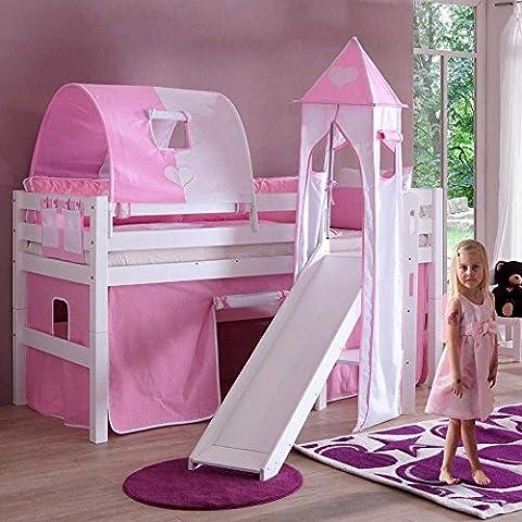 Kinderhochbett Sky für Mädchen Pharao24