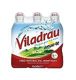 Viladrau Tapón Sport Mou Agua Mineral Natural - Pack de 6 x 0,5 l - Total: 3000 ml