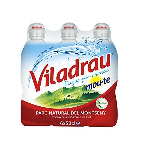 Foto de Viladrau Tapón Sport Mou Agua Mineral Natural - Pack de 6 x 0,5 l - Total: 3000 ml