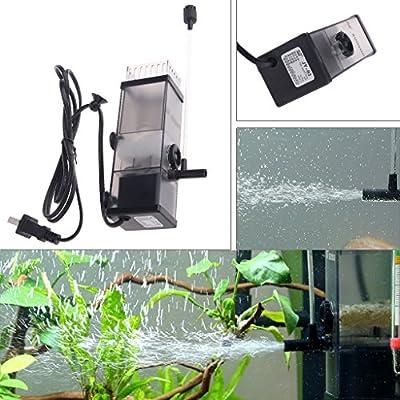 lailongp solvant de Film d'huile de 5W, Filtre de Surface d'écumeur de protéine de l'eau pour l'aquarium d'aquarium