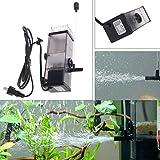 lailongp 5W Ölfilm-Entferner, Wasser-Protein-Oberflächenskimmer-Filter für Aquarium-Aquarium