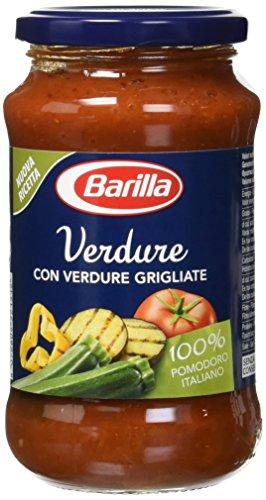 Barilla -Sugo al Pomodoro con Verdure Grigliate, 6x400gr