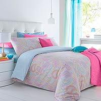 Multi Paisley Pieridae edredón y almohada Funda de edredón de cama impresión Digital de cama doble King size cama del dormitorio de una sola, matrimonio