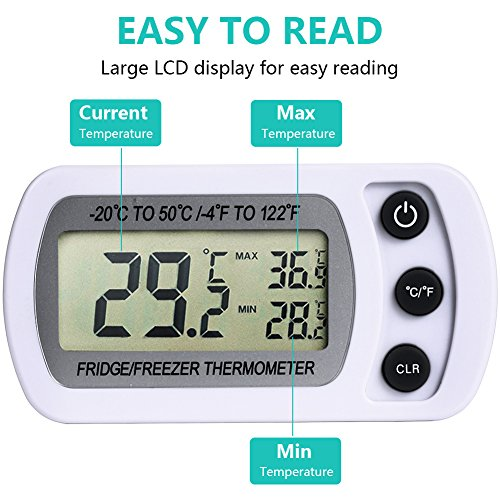 NexGadget digitales Gefrierschrank- Thermometer - 3