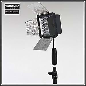 Yongnuo - YN-160 LED Lumière vidéo, Lampe vidéo pour la caméra DV caméscope Canon Nikon
