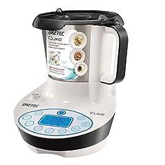 Idea Regalo - Imetec Cukò Robot da Cucina Multifunzione con Cottura, Multicooker con 3 Programmi Automatici per Risotti, Pasta e Vellutate, 10 Funzioni, 570 W, 4 Porzioni, con Ricettario