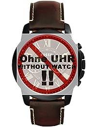 Fossil bande de montre de bracelet pour montre fs5088de rechange d'origine FS 5088Bracelet de Montre bracelet cuir 22mm Marron