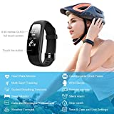 Activity-Tracker-Lintelek-Fitness-Tracker-Watch-with-Heart-Rate-Monitor-Touch-Screen-Waterproof-Smart-Watch-Stopwatch-Connected-Running-GPS-Bluetooth-Pedometer-for-Android-iOS-Smartphone