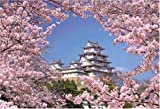 Himeji Castle 71-324 1000 piece cherry wind (japan import) by Beverly