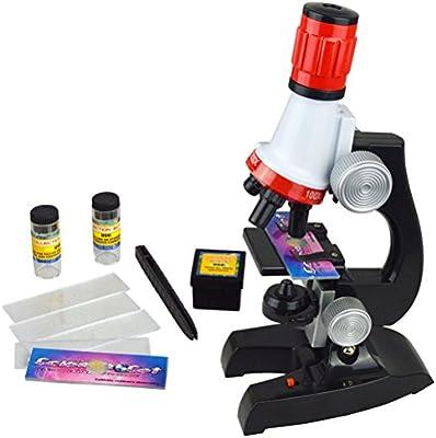 Kit de Microscopio de la Ciencia para Estudiantes de los Niños