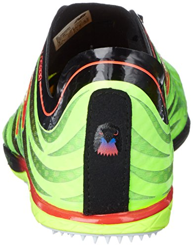 New Balance Men's LD5000V3 Track Spike Shoe, Lime/Black, 13 D US Lime / Black