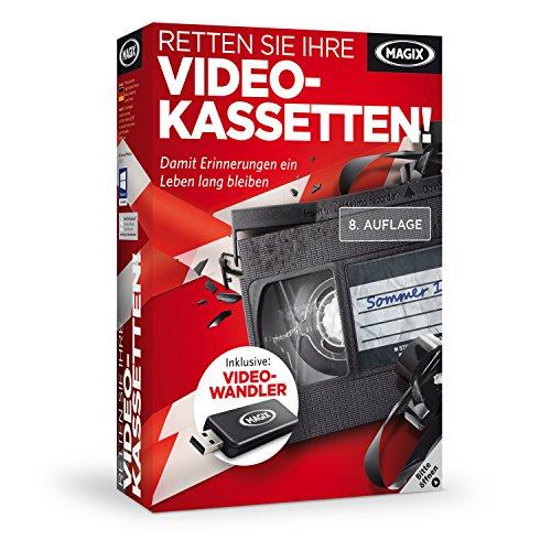 MAGIX Retten Sie Ihre Videokassetten 8 - 0.01% Lösung