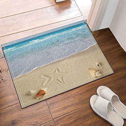 SRJ2018 Alfombras baño Tropicales Junto mar Playa
