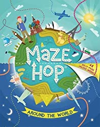 Maze Hop: Around the World