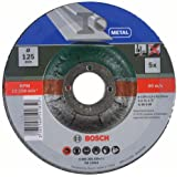 Bosch DIY Trennscheibe Metall gekröpft für Winkelschleifer (5 Stück, Ø 125 mm)