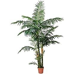 Planta artificial palmera 120 cm altura, Catral 74010012