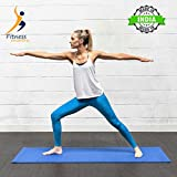 Fitness Mantra Yoga Mat for Gym Workout and Yoga Exercise with 4 mm Thickness, Anti-Slip Yoga Mat for Men & Women Fitness |Qnty.-1 Pcs.|