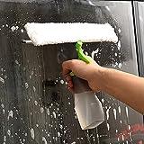 Aspiradora limpiacristales Limpiador de Ventana de Agua de Spray Multifuncional Raspador de Vidrio de Doble Cara de Doble Uso Limpiacristales Doble-Side Glass Cleaner